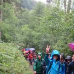 Grundschule Hobeuken - wandern
