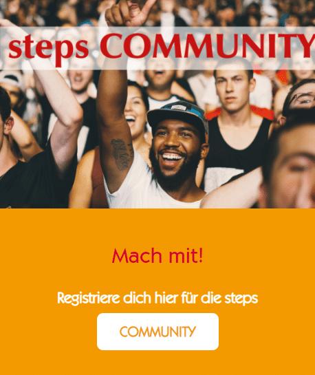steps COMMUNITY Mach mit!