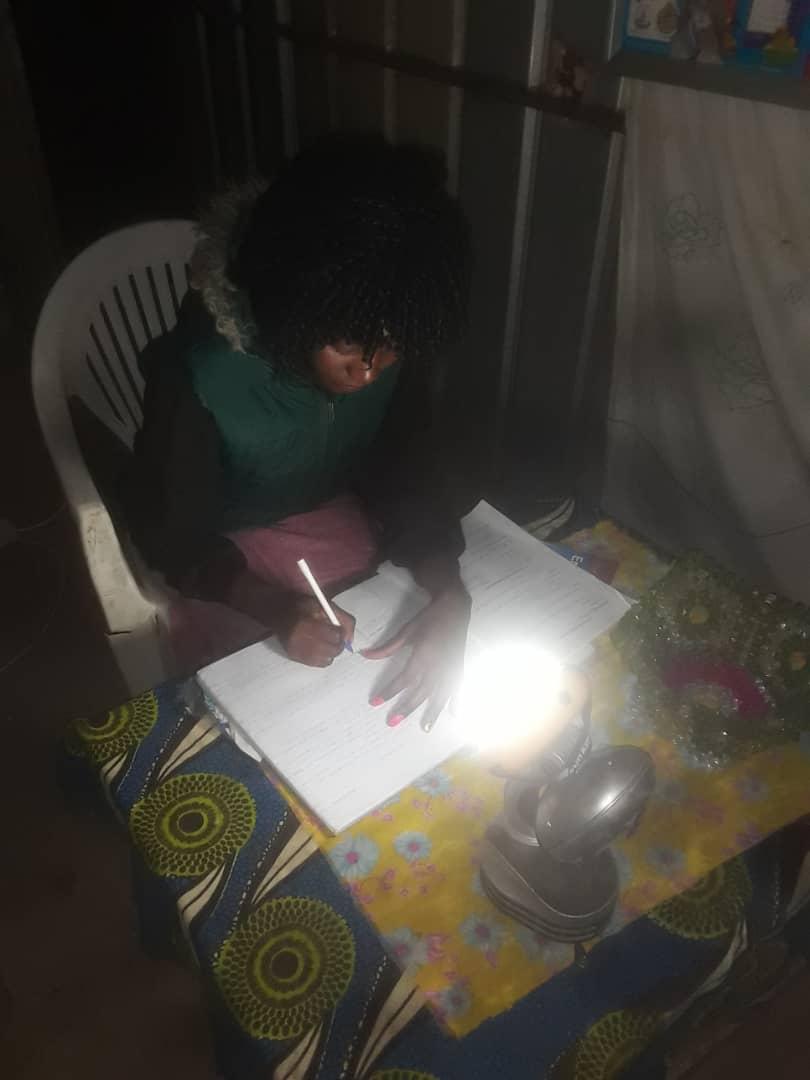 Solarlampe Regina lernt (4)